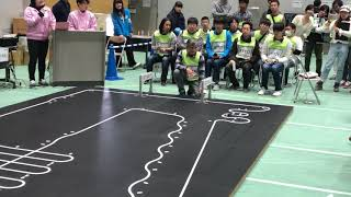 2018 Japan Robotrace contest, 4th prize Ning3 by Ng, BengKiat, 13.475s