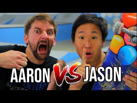 JASON VS AARON KYRO REMATCH - GAME OF SKATE ROUND 2