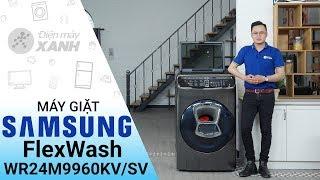 Máy giặt sấy Samsung 21 kg FlexWash WR24M9960KVSV - Đẳng cấp máy giặt đã xuất hiện | Điện Máy XANH