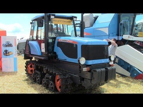Новый гусеничный трактор АГРОМАШ 90ТГ или Воскрешение ДТ-75? Обзор 2017.
