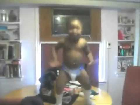 Baby Dancing To Stanky Leg Brilliant video