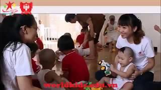 Các bé trường mầm non Quốc tế Worldkids đi thăm các em nhỏ tại cơ sở nuôi dạy trẻ tâm đức