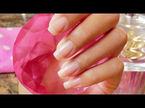Nail Care Routine Longer Stronger Brighter Nails YouTube