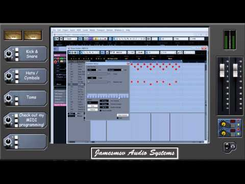 Metal Mixing Tips Episode 2 - Adding Realism to MIDI drum programming