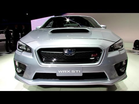 2015 Subaru WRX STI - Exterior. Interior and Engine Walkaround - Debut at 2014 Detroit Auto Show