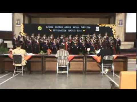 Hymne Universitas Jember (PSM FK UJ 2012)