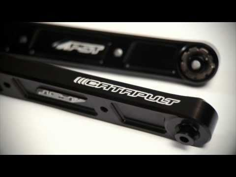 PST's new Catapult® Billet Aluminum Trailing Arms
