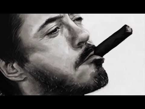 Robert Downey, Jr. - Speed Painting