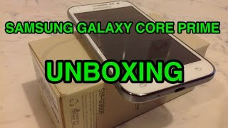 Samsung Galaxy Core Prime - unboxing ita
