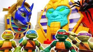 COWABUNGA~! Teenage Mutant Ninja Turtles, Curse Of The Mummy  - ToyMart TV