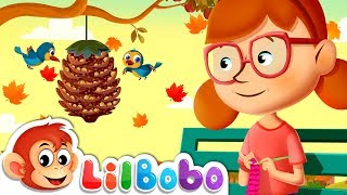 Autumn Songs for Kids - Leaves Are Falling Down | Little BoBo Nursery Rhymes | Flickbox