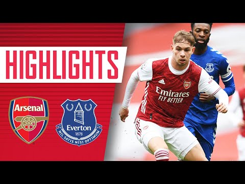 HIGHLIGHTS | 兵工厂 vs 埃弗顿 U23s (1-0) | Smith Rowe with the winner
