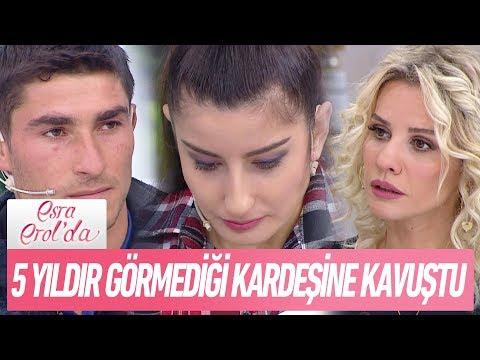 Kader Selin, 5 Yıldır Görmediği kardeşine kavuştu - Esra Erol'da 28 Aralık 2017
