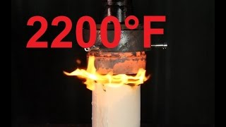 Crushing toilet paper and ice with RED HOT HYDRAULIC PRESS