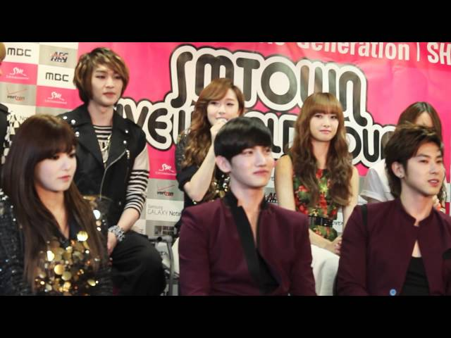 SMTOWN World Tour - Girl's Generation Interview P.1