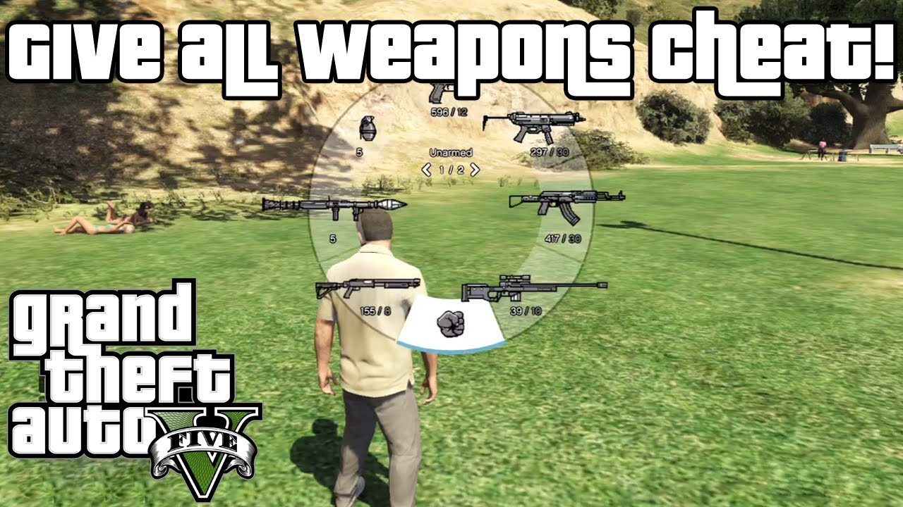 Gta 5 New Guns Gta 5 Give All Weapons Cheat