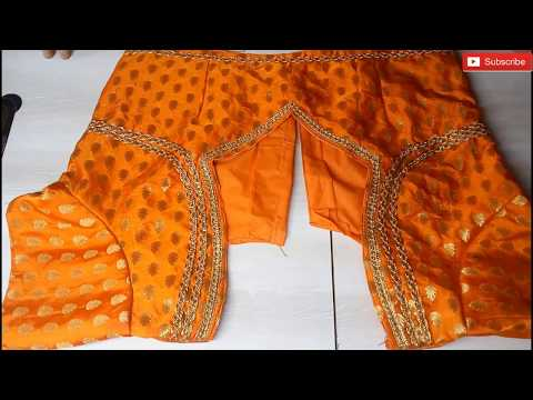 New fashion saree blouse new neck back blouse designing
