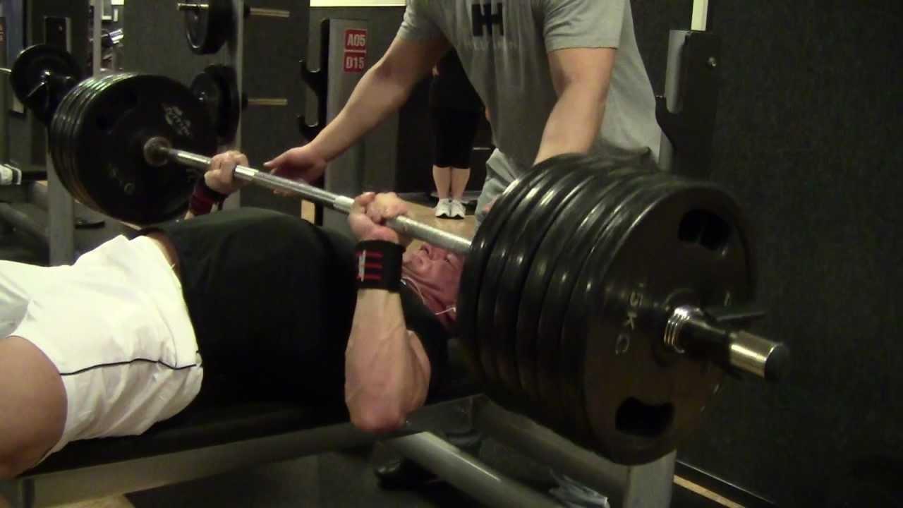 Superman Bench Press Bench Press 200kg 4x Raw
