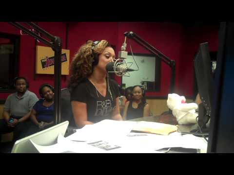 Chante Moore on the Tom Joyner Morning Show - Part One
