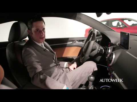 Audi A3 at the New York auto show - video introduction