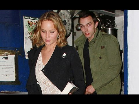 Jennifer Lawrence's Romantic Reunion With Nicholas Hoult! | POPSUGAR News