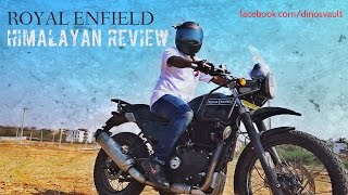 Royal Enfield Himalayan First Ride Review, Walkaround, Exhaust Note #Bikes@Dinos