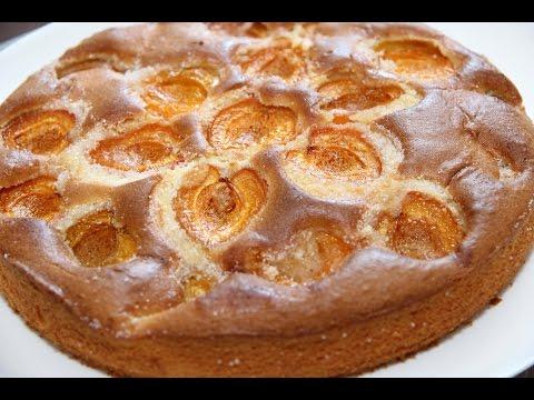 Пирог рецепт.Пирог с абрикосом.Ватрушки сметанные.Пирог с творогом