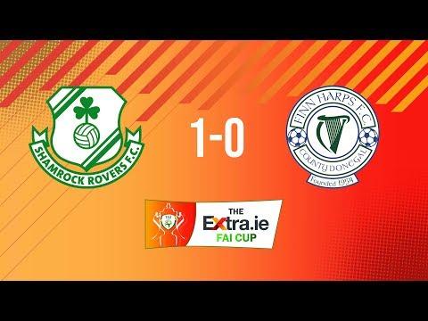 Extra.ie FAI Cup First Round: Shamrock Rovers 1-0 Finn Harps