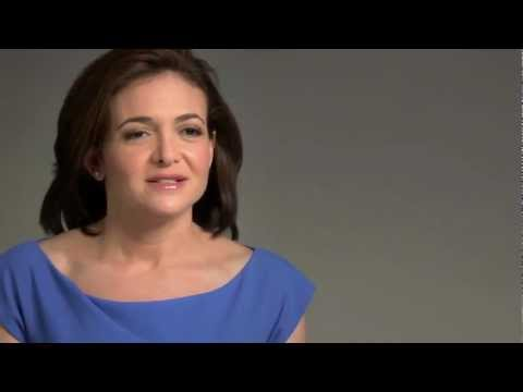 Sheryl Sandberg discusses her book, Lean In