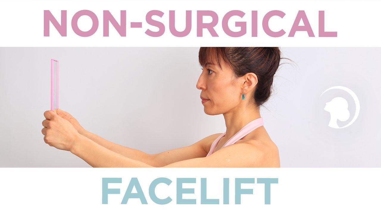 מתיחת פנים ללא ניתוח – עם יוגה לפנים