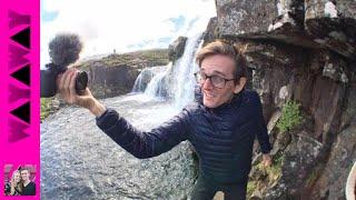 Iceland WHOA! Blown away by Kirkjufellsfoss! Ashley finds Ice cream too!