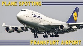 Plane Spotting at Frankfurt Airport   Airplanes at Flughafen Frankfurt am Main   HD