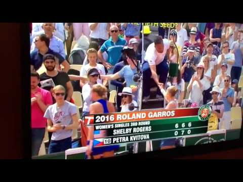 Shelby Rogers defeats Petra Kvitova in French Open 2016