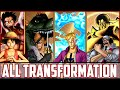 One Piece Burning Blood All Transformations, All True Awakenings, All Forms/Evolutions