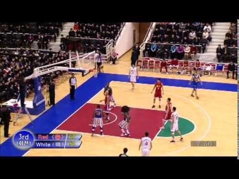 EXCLUSIVE Dennis Rodman and Harlem Globetrotters in North Korea - FULL GAME