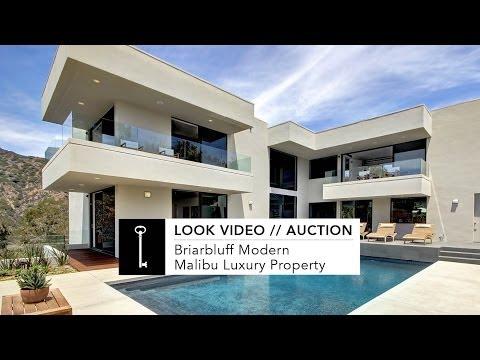 Look Video // Briarbluff Modern // Malibu Luxury Home
