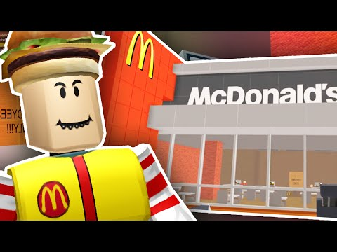 BUILDING MY OWN MCDONALDS!!   Roblox