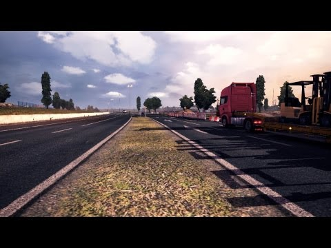 Euro Truck Simulator 2   New Harder Map v1.1   Dover - Hannover - Calais   Patch 1.3.1