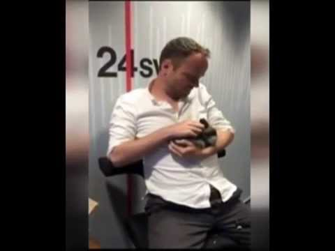 Asger Juhl Radio broadcaster, Baby Killed Rabbit Live Broadcast!