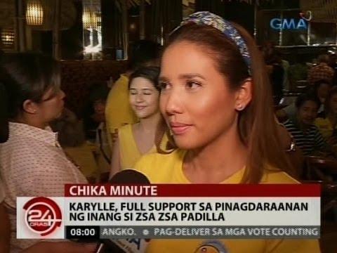 24 Oras: Karylle, full support sa pinagdaraanan ng inang si Zsa Zsa Padilla