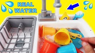 Kitchen Toys for Children: Kids Toy Kitchen Sink Faucet Playset
