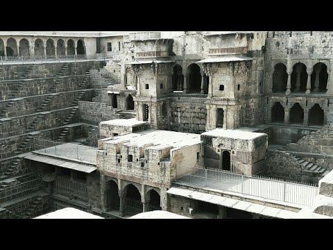 Chand Baori | Mysterious Stepwell Maze | Abhaneri jaipur