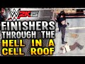 WWE 2K15 FINISHERS THROUGH THE HELL IN A CELL ROOF PS4 mp3