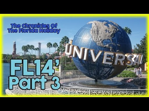 FL14' Florida Holiday | Part 3 | Universal Studios