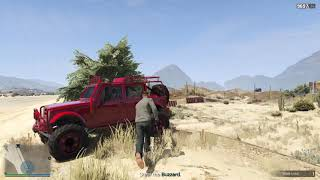 THE PRISON BREAK/Grand Theft Auto V Online
