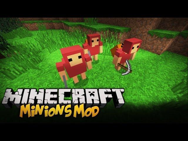 Minecraft Mody - TWOI SŁUDZY! - Minions Mod 1.5.2