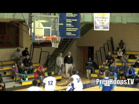 Miroslav Jaksic 2013 Walled Lake Western goes for 35 vs Detroit Pershing