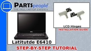 Dell Latitude E6410 LCD Hinge How-To Video Tutorial