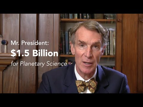 Bill Nye's Open Letter to President Barack Obama