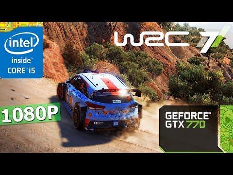 WRC 7 FIA World Rally Championship    GTX 770 + i5-3570K   1080P   Ultra. High. Med. Low Setting.